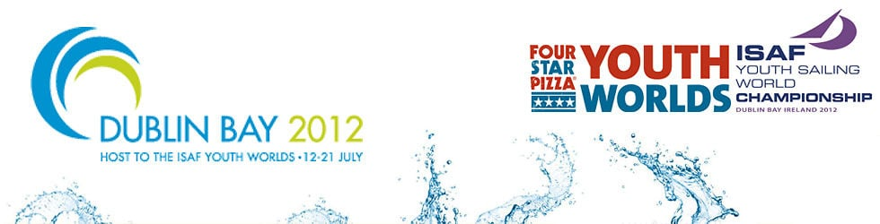 Four Star Pizza ISAF Youth Worlds set up...