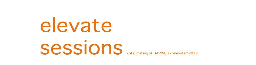 """ELEVATE SESSIONS - (BTS) making of DAVINCI's release """"elevate"""""""