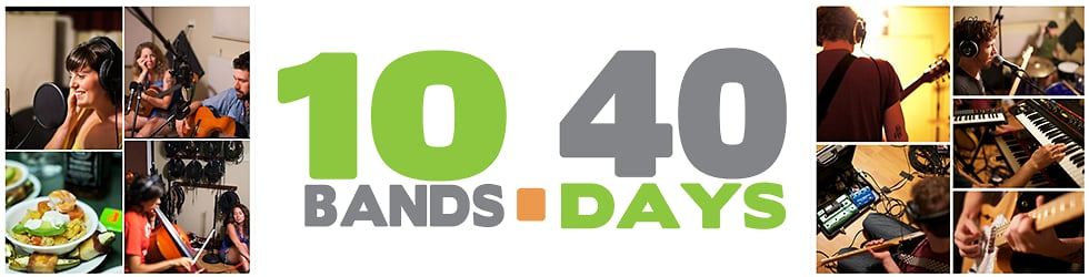 10 Bands / 40 Days