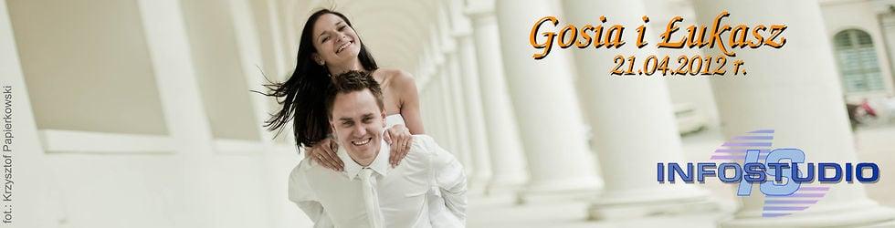 Ślub i wesele Gosi i Łukasza