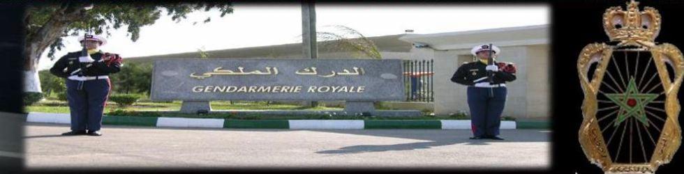 gendarmerie royale marocaine