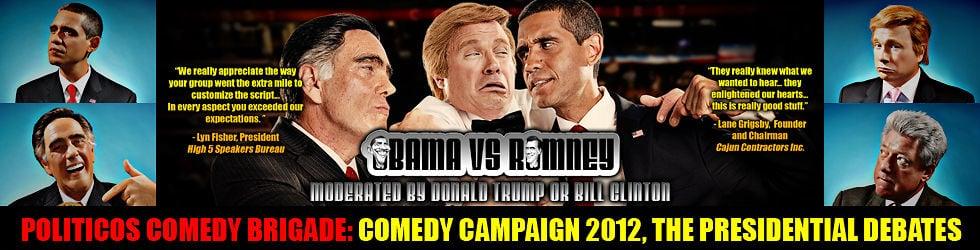 Politicos Comedy Brigade: Comedy Campaign 2012