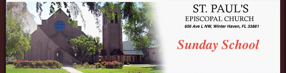 St. Paul's Sunday School
