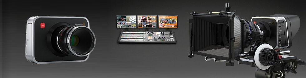Blackmagicdesign - Blackmagic Cinema Camera, ATEM, and many more