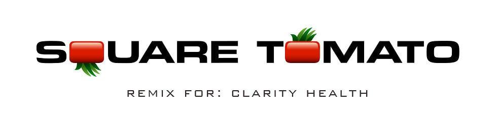 Square Tomato Remix for: Clarity Health