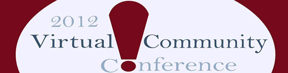 Virtual Community Conference Presentations