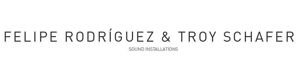Sound Installations
