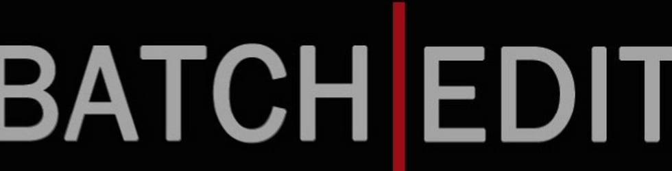 BatchEdit Theatre Promos