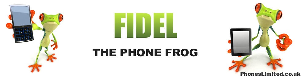 Mobile Phone Deals & Reviews by Fidel the Phone Frog