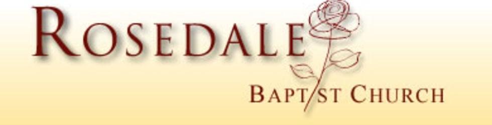 Rosedale Baptist Church services