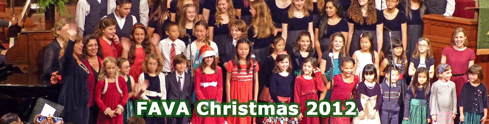 FAVA - Christmas 2012