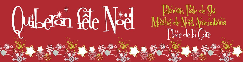 Quiberon fête Noël