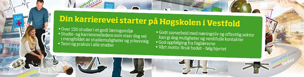 Bli student ved Høgskolen i Vestfold