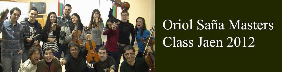Oriol Saña Masters Class Jaen 2012