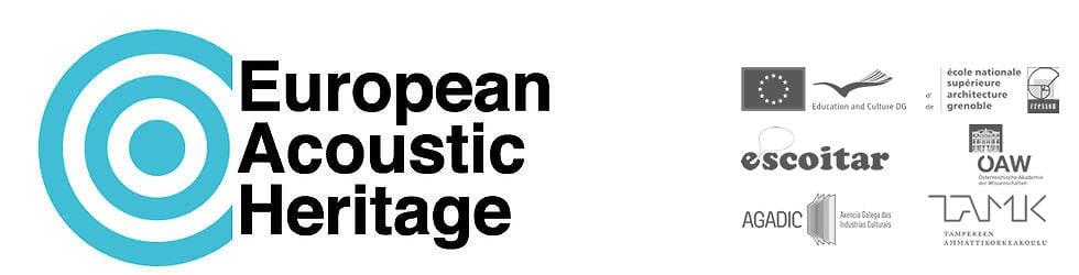 EAH European Acoustic Heritage Project