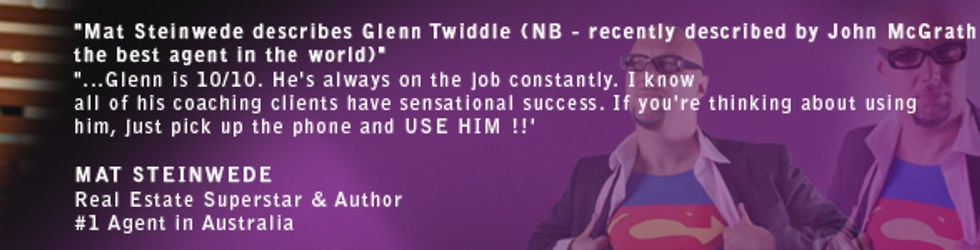 Glenn Twiddle Support - Coaching Modules for full clients.