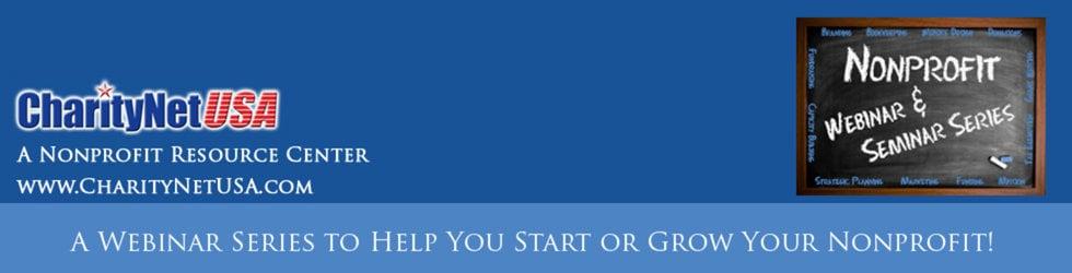 Nonprofit Webinar Series