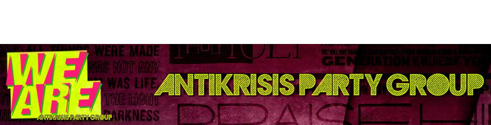 WE ARE Antikrisis