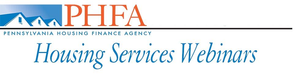 Housing Services Webinars