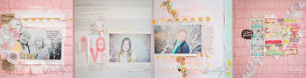 Scrapbooking with Wilna
