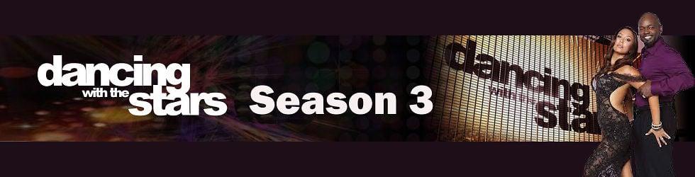 Dancing With The Stars Season 3