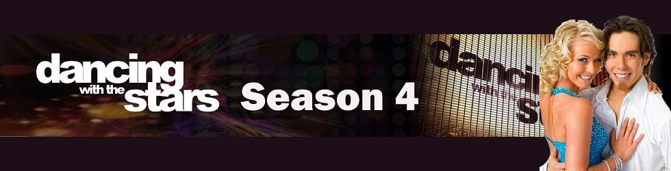 Dancing With The Stars Season 4