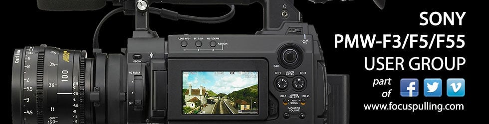 Sony PMW-F3/F5/F55 User Channel