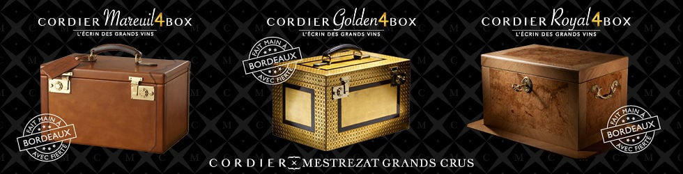 Cordier 4BOX® - Les mallettes de créateurs