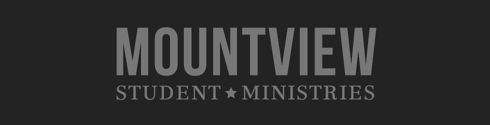 Mountview Student Ministries