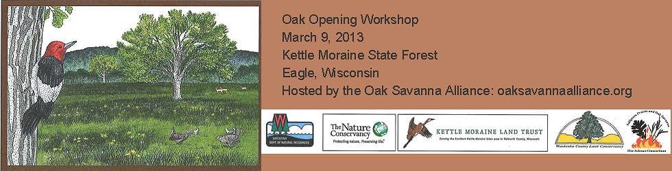 Oak Opening Workshop