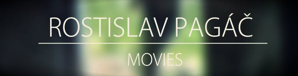 Rostislav Pagáč - Movies