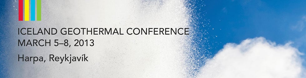Iceland Geothermal Conference 2013