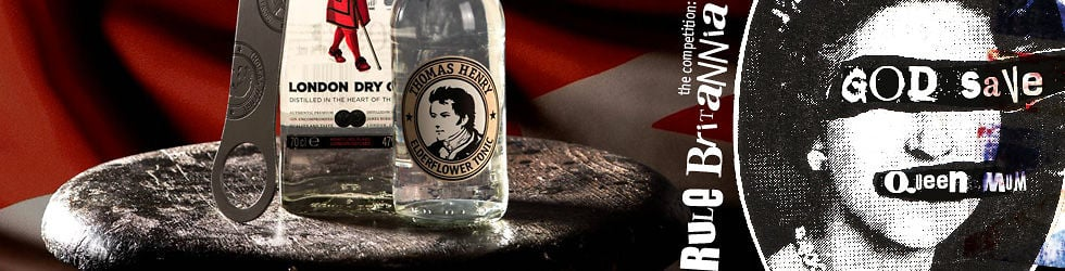 """Thomas Henry & Beefeater Gin Competition """"Rule Britannia – God save Queen Mom"""""""