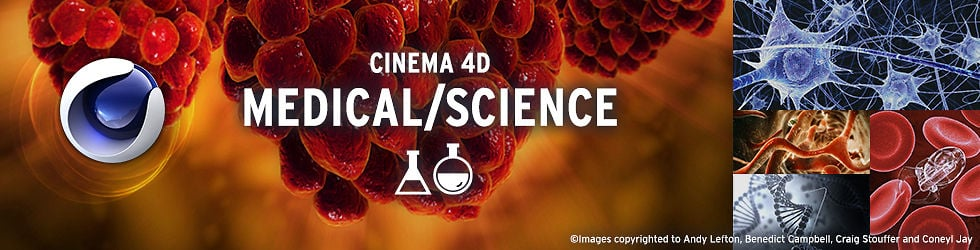Cinema 4D Medical/Science
