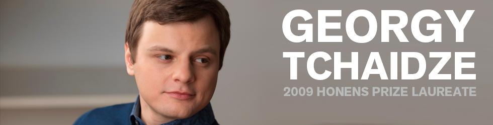 Georgy Tchaidze | 2009 Honens Prize Laureate