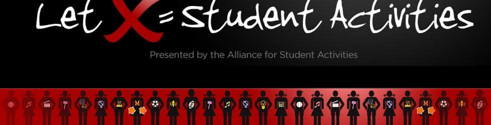Let X = Student Activities!