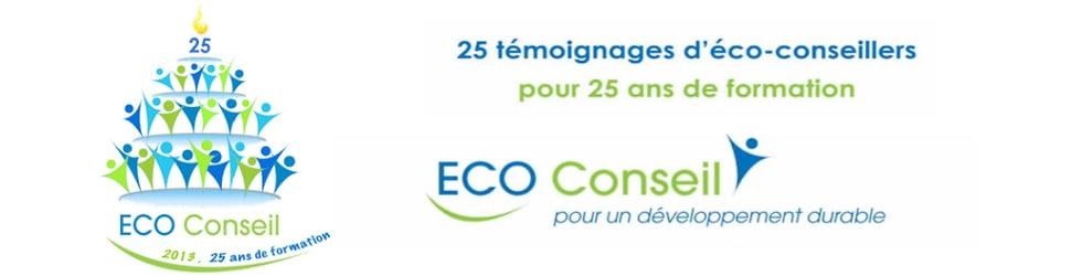 ECO-Conseil - 25 vidéos pour les 25 ans de la formation d'éco-conseiller
