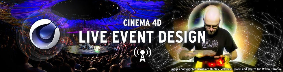 Cinema 4D Live Events