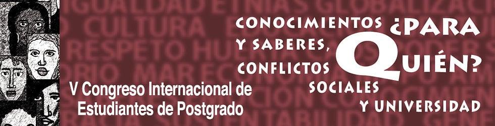V Congreso Internacional de Estudiantes de Postgrado.