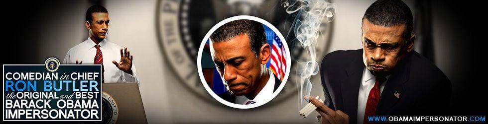 Original And Best Barack Obama Impersonator Ron Butler