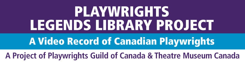 PLAYWRIGHTS SERIES: Celebrating the 40th Anniversary of the Playwrights Guild of Canada