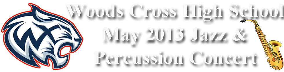 May 2013 WXHS Jazz & Percussion Concert