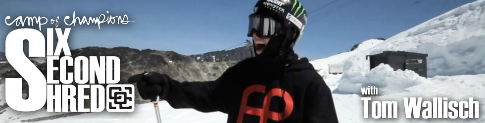 Six Second Shred with Tom Wallisch