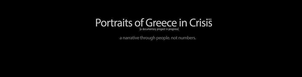 Portraits of Greece in Crisis
