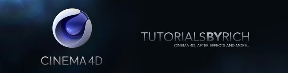 TUTORIALS BY RICH - Cinema 4D.After Effects and more.