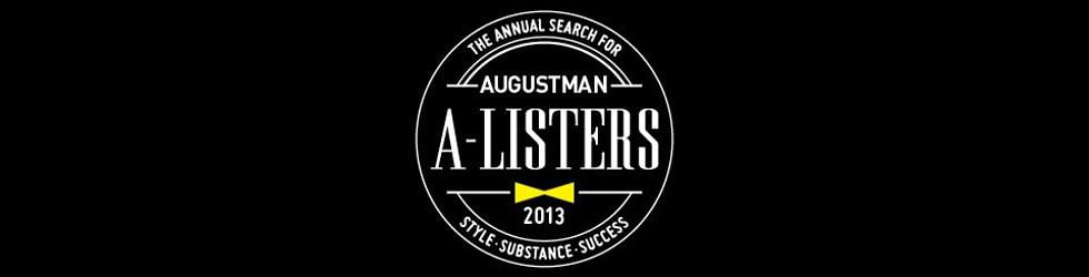 August Man A-Listers 2013