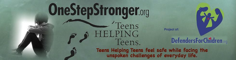 One Step Stronger  - Teens Message To You!