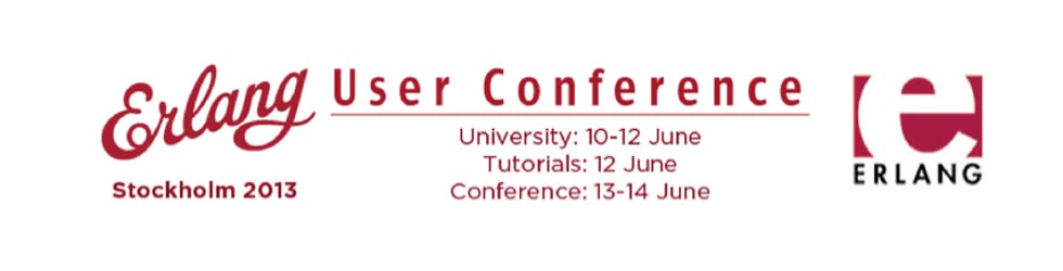 Erlang User Conference 2013