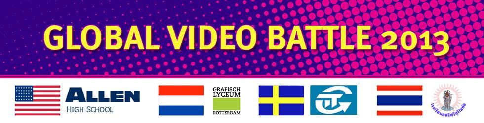 Global Video Battle 2013 - Finalists!