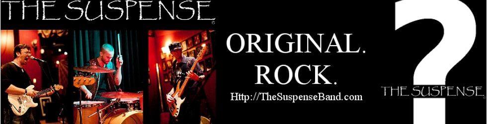 THE SUSPENSE - Original. Rock.